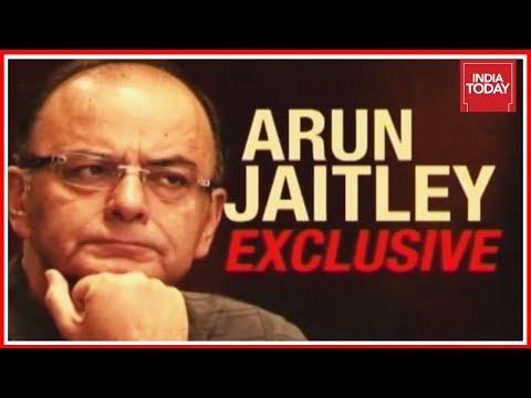 FM Arun Jaitley Talks To India Today Regarding Economic Slow Down
