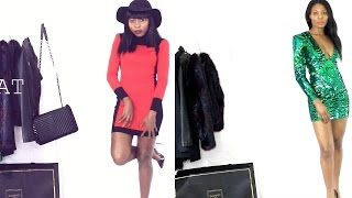 BALMAIN *H&M TRY ON FALL HAULBOOK 2015| TWO AFRICAN GIRLS KILLING IT
