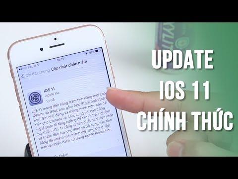 Hướng dẫn chi tiết lên iOS 11 chính thức cho iPhone, iPad