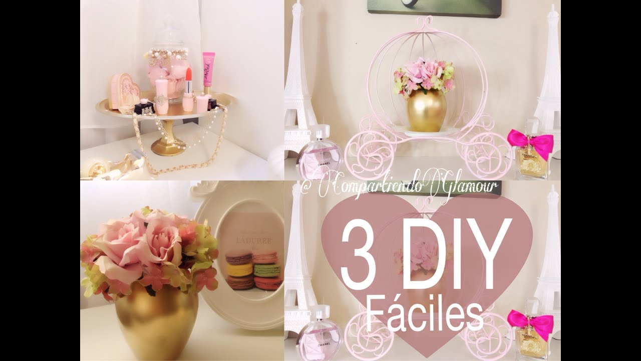 Diy room decor 3 opciones para decorar tu habitaci n for Cosas para decorar tu cuarto