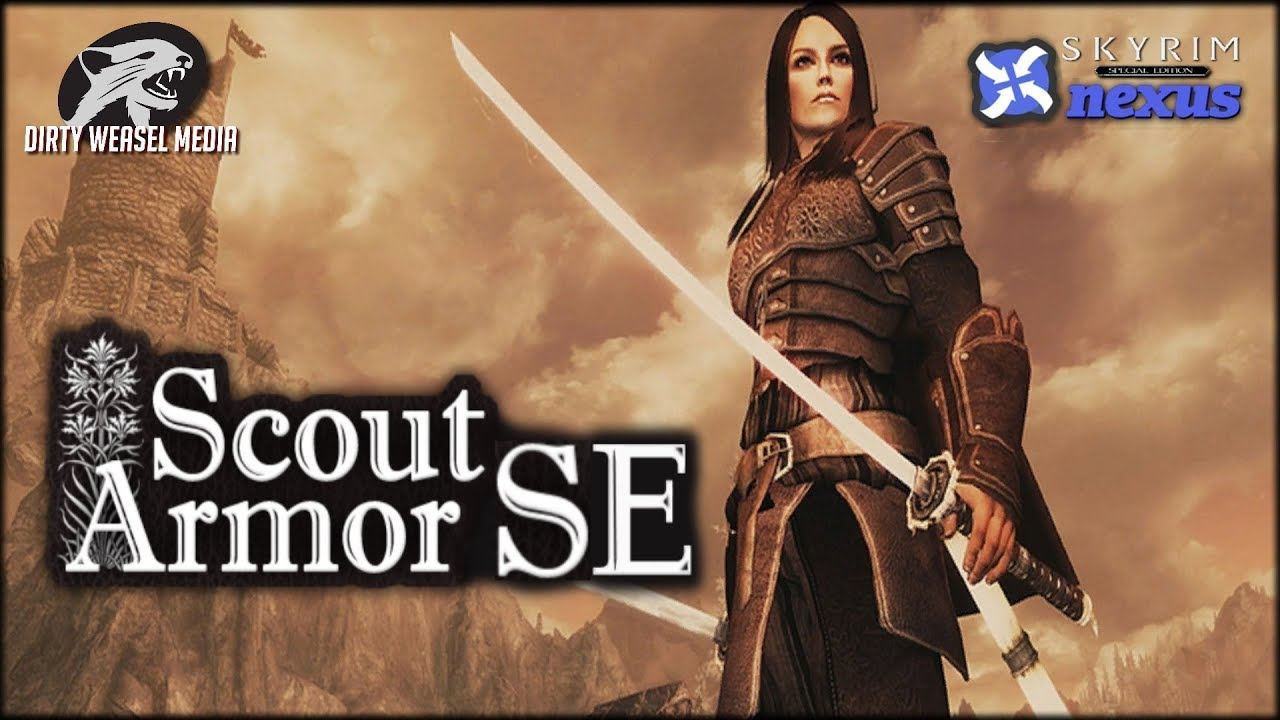 Scout Armor Special Edition: A Converted Mod for Skyrim SE