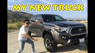 2018 TOYOTA TACOMA TRD OFFROAD   MY NEW TRUCK REVEAL