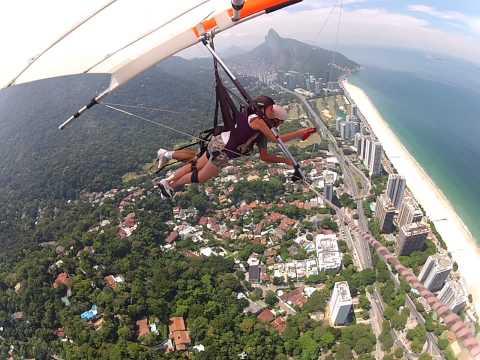 Il Mio Primo Volo In Deltaplano - Rio De Janeiro 10/03/14