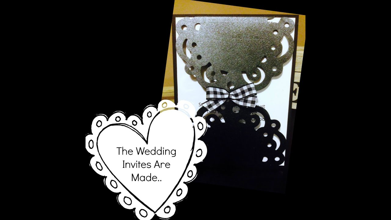 Wedding Invitation Tutorial YouTube