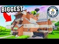 WORLD RECORD BIGGEST HOUSE in FORTNITE!