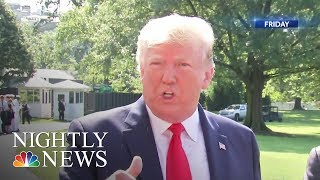 Trump Under Fire, Says Dem Congresswomen Should 'Go Back' Where 'They Came' From | Nightly News