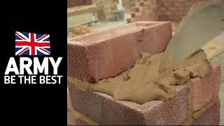 Bricklayer - Roles in the Army - Army Jobs