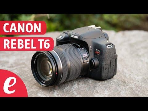 Canon EOS Rebel T6 (español) unboxing