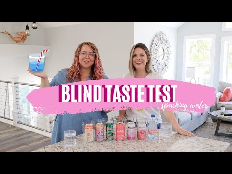 Blind Taste Test: Sparkling Water