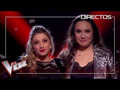 Auba es la primera semifinalista del equipo Pablo López | Directos | La Voz Antena 3 2019