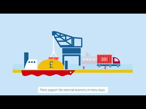 The British Ports Industry (subtitled)