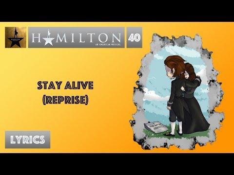 #40 Hamilton  Stay A Reprise MUSIC LYRICS