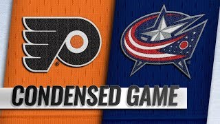 Philadelphia Flyers vs Columbus Blue Jackets – Oct.18, 2018 | Game Highlights | NHL 18/19 | Обзор