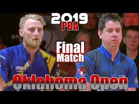 2019 Bowling - PBA Bowling Oklahoma Open Final -Jesper Svensson VS. Jakob Butturff Mp3