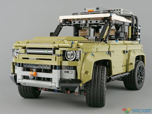 Lego Land Rover 42110 Teil 1 : Auseinander bauen + B-model