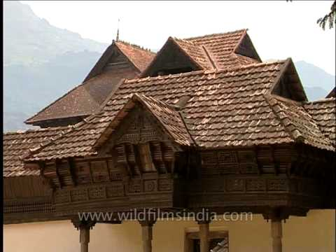 Padmanabhapuram Palace - once the traditional home of the royal family of Travancore
