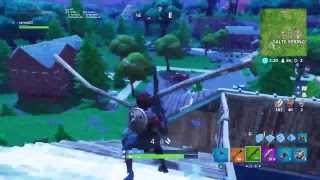 Fortnite Battle Royale/ watch me get WRECKED by noobs cause i absolutely SUCK AT THIS GAME!!!!