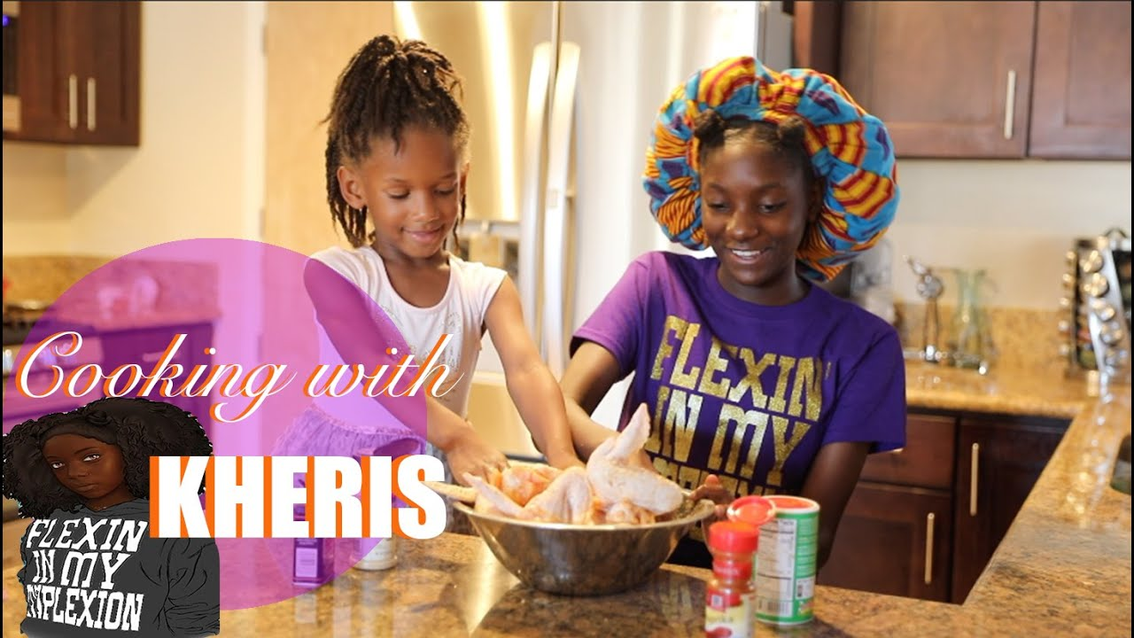 Cooking with Kheris | Fried Chicken