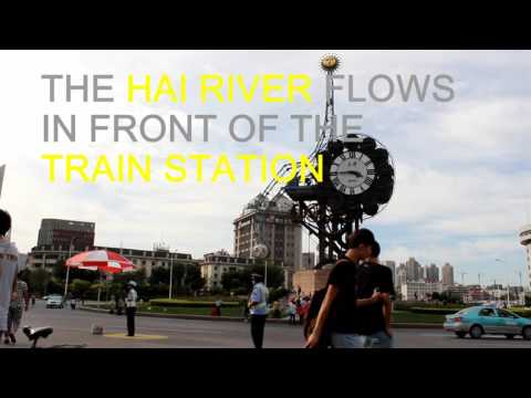 "An Afternoon on the Banks of ""Hai River"" in Tianjin, China"