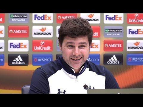 Mauricio Pochettino Full Pre-Match Press Conference - Tottenham v Gent - Europa League