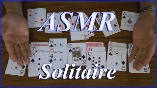 ASMR soothing Solitaire  CARD sounds