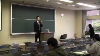 「競技のスポーツ栄養学」武蔵丘短期大学の授業