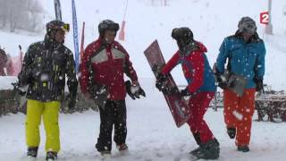Extreme Carving on French TV - 2nd broadcasting