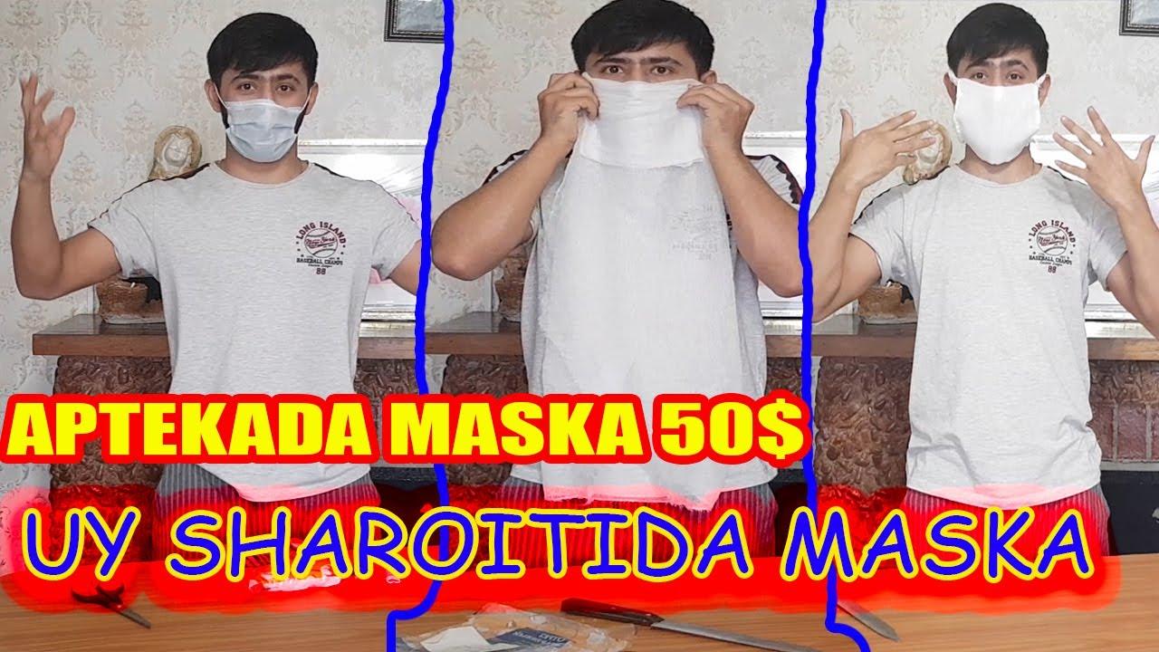 MASKALAR 50 $ UY SHAROITIDA MASKA QILISH MyTub.uz