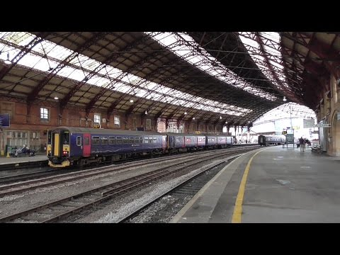 Bristol Temple Meads Railway Station - featuring LMS Princess Royal 46201 'Princess Elizabeth'