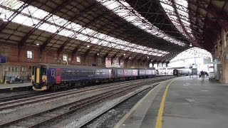 Bristol Temple Meads Railway Station - featuring LMS Princess Royal 46201 'Princess Elizabeth'