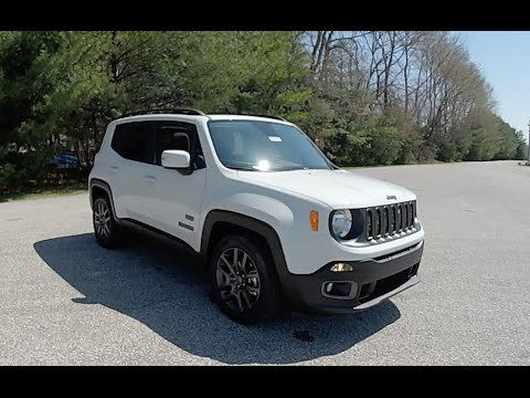 2016 jeep renegade latitude 75th anniversary edition 4x2. Black Bedroom Furniture Sets. Home Design Ideas