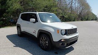 2016 Jeep Renegade Latitude 75th Anniversary Edition 4X2 White | Jeep Dealer Martinsville | 18361
