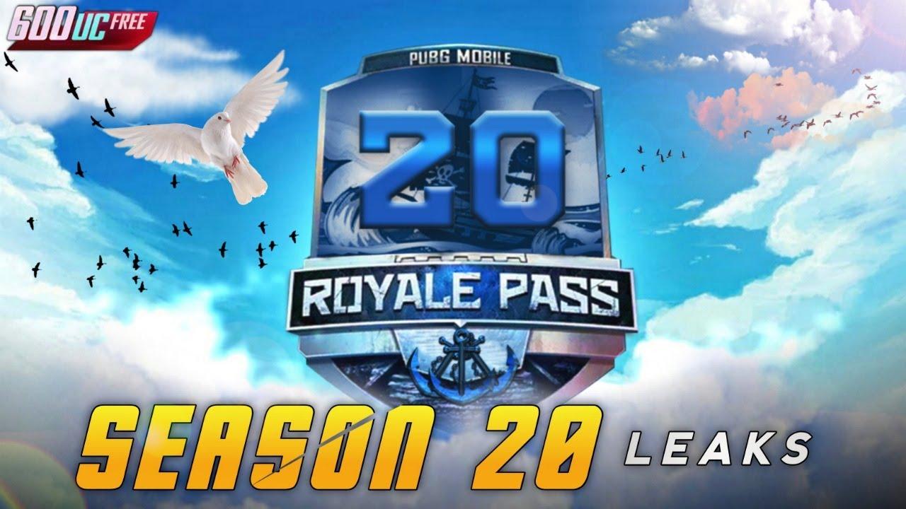 SEASON 20 ROYAL PASS 1 TO 100 LEVEL RP REWARD   PUBG MOBILE SEASON 20 RP LEAKS   SEASON 20 REWARDS