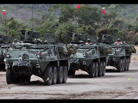 Ejercito Colombia - Blindados LAV III Gladiador