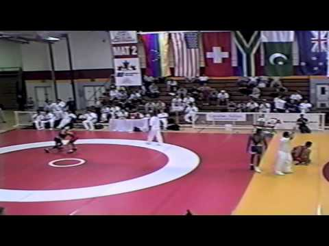 1999 Canada Cup: 56 kg Breanne Graham (CAN) vs. Sara McMann (USA)
