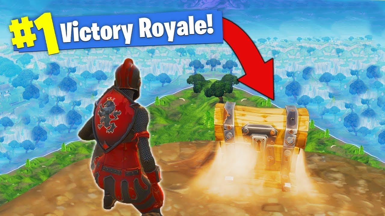 The One Chest Challenge Fortnite Battle Royale