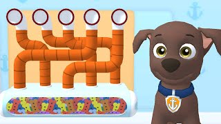 PAW Patrol: A Day in Adventure Bay - Mighty Pups Zuma Charged Up Rescue Mission Fun Kids Games