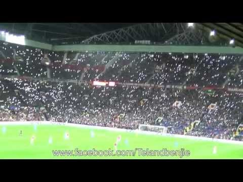 Manchester United's Fans Tribute to George Best at Old Trafford, 10 Year Anniversary 25.11.15