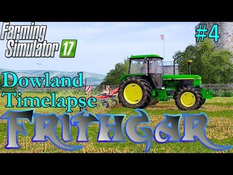 FS17 Timelapse, Dowland Farm Seasons #4 Early Summer Hay!
