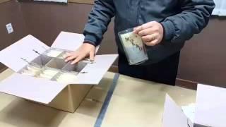 한약의약품포장재조립동영상