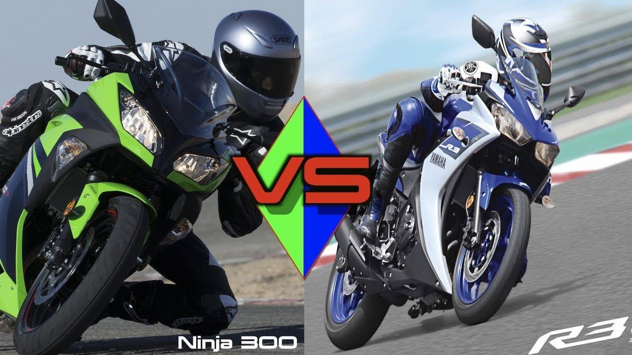 Yamaha R3 Vs Ninja 300 Which One Should You Buy Youtube