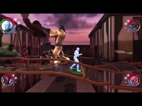 Size Manipulation Powers In The Marvel: Ultimate Alliance And X-Men Legends  Games