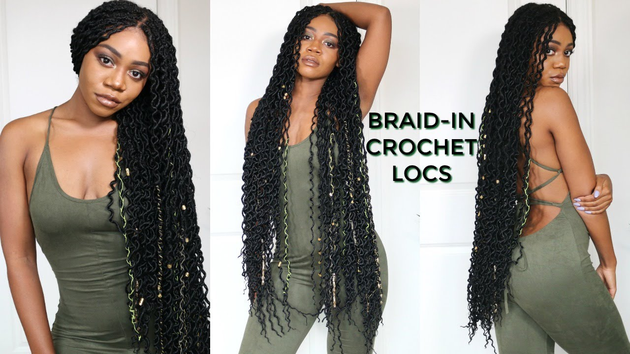 Super Long Doubled Crochet Locs