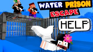 Monster School Super CUTE MERMAIDS Water Prison Escape