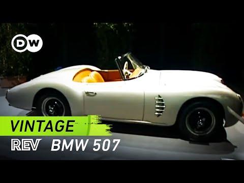 vintage! BMW 507   drive it