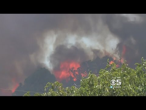 Team Coverage: Fire Rips Through Lower Lake Community