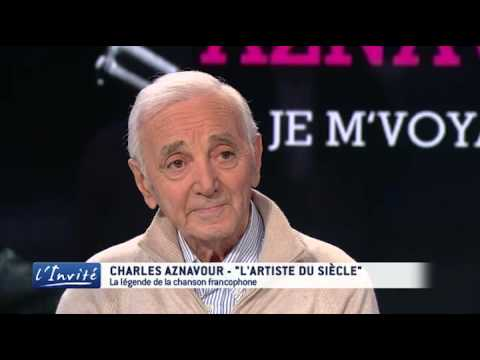 "Charles AZNAVOUR  : ""On m'a obligé à quitter la France"""
