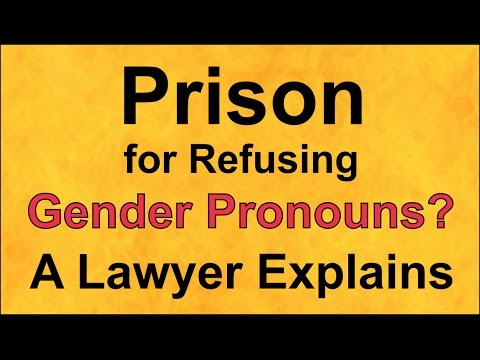 Prison For Refusing Gender Pronouns? Lawyer Explains Bill C-16, Compelled Speech, to Canadian Senate