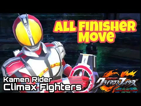 All Finisher Move Kamen Rider Climax Fighters PS4 Gameplay. All Super Rider Arts From Black to Build