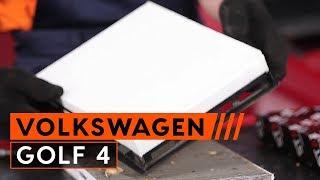 Installation Verschleißanzeige Bremsen VW GOLF: Video-Handbuch